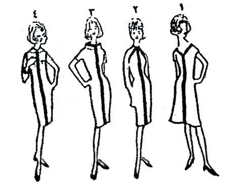 الخطوط وأثرها فى تصميم الأزياء