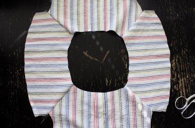 شكل الأكمام بعد التركيب